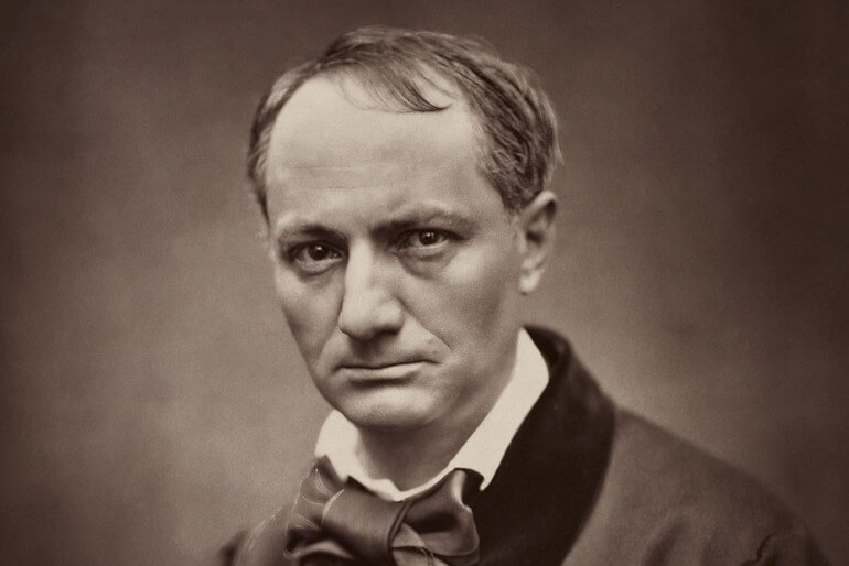 Charles Baudelaire (by Etienne Carjat)