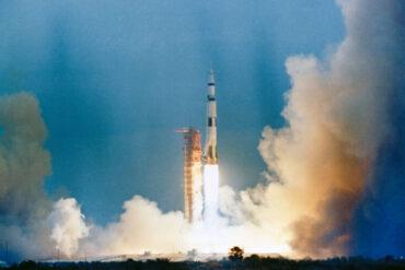 1969 Εκτοξεύεται από το ακρωτήριο Κανάβεραλ το διαστημόπλοιο «Apollo 9»