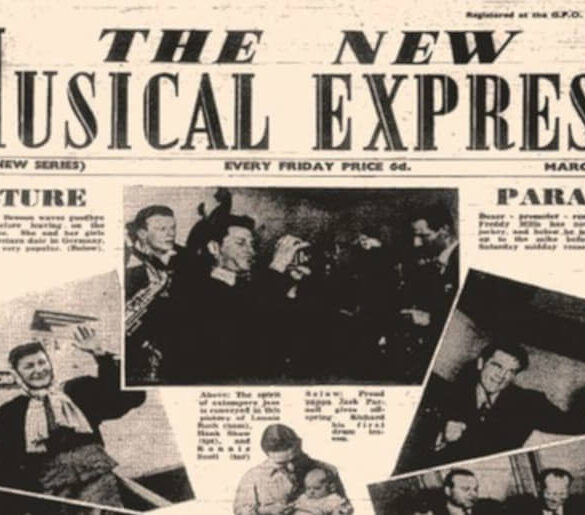 Στις 7 Μαρτίου του 1952 κυκλοφορεί η βρετανική μουσική εφημερίδα New Musical Express (NME).