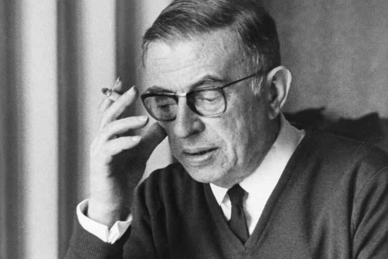 Ζαν-Πoλ Σαρτρ (Jean Paul Sartre) βιογραφια